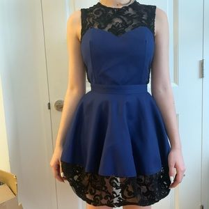 Opening Ceremony Lace Bubble Skirt Dress